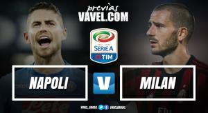 Em grande fase, Napoli defende longo tabu contra Milan para fazer manutenção da liderança
