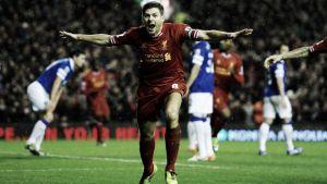 """Gerrard: """"Adoro jugar contra el Everton"""""""