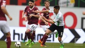 SpVgg Greuther Fürth 1-0 Dynamo Dresden: Aosman's spectacular own-goal seals Shamrocks' win