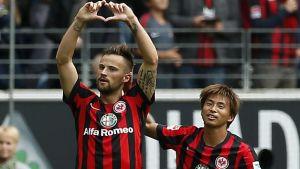 Can Haris Seferovic Kick On At Frankfurt?