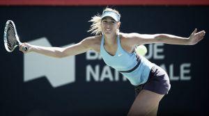 Sharapova rememora el pasado ante Garbiñe