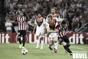 Un buen Shakhtar amarga el estreno del Athletic