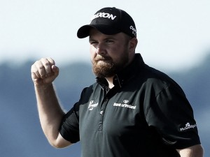 US Open: Shane Lowry holds four-shot lead after third round 65