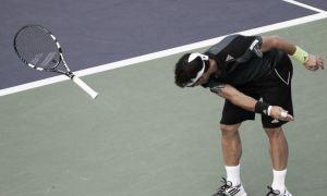 ATP Shanghai: figuraccia Fognini, bene Murray
