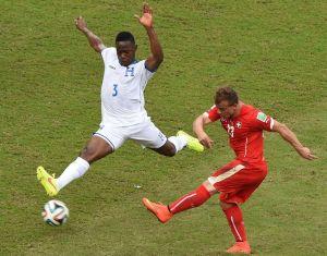 Honduras - Suiza, puntuaciones de Suiza, jornada 3, Grupo E