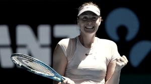 Com tranquilidade, Sharapova vinga derrota do US Open e vence Sevastova