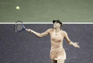 Sharapova se baja del WTA Premier Mandatory de Miami