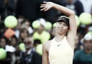 WTA Rome: Maria Sharapova blasts past Daria Gavrilova in straight sets