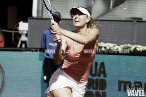Sharapova sufrió para superar a García
