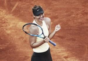 WTA Rome: Maria Sharapova stuns Jelena Ostapenko in three-hour thriller