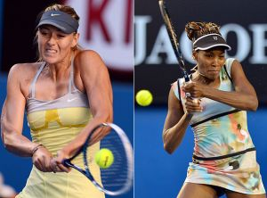 Sharapova and Venus Williams Withdraw From Fed Cup