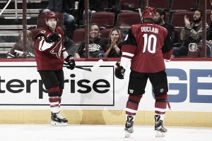 Arizona Coyotes battle past San Jose Sharks in final pre-season contest