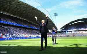 "Arsene Wenger ""sad"" after finishing Arsenal tenure with a victory over Huddersfield"