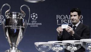 Sorteo de la previa de la Champions League en vivo y en directo online