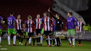 Sheffield United 1-2 Bristol City: Flint strikes late to secure the Robins all three points against 10-man Blades