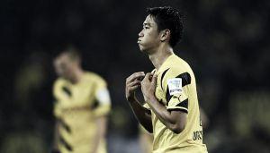 Kagawa suffers head injury in Japan win
