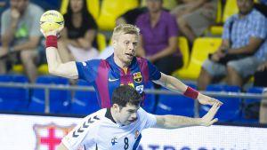 Un buen BM Aragón no puede con el Barcelona