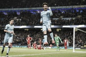 Manchester City 2-0 Leicester: Schwarzer heroics can't prevent Leicester defeat at Etihad
