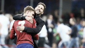 """Griezmann, encantado con Simeone: """"Es el mejor entrenador del mundo"""""""