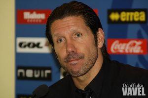 """Simeone: """"Sacamos un resultado muy positivo; este equipo está lleno de hombres"""""""