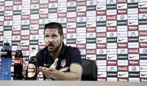 """Simeone: """"Somos conscientes de que tenemos que mejorar y trabajar"""""""