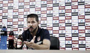 """Simeone: """"Volvemos en Liga con nuestra gente y tenemos la necesidad de hacer las cosas bien"""""""