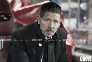 """Simeone: """"El equipo está creciendo y hoy fue más continuo"""""""