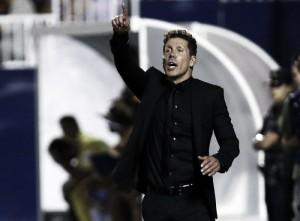 """Simeone: """"Nos ha faltado materializar la superioridad con goles"""""""