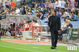 Simeone, ante su partido 100 al frente del Atlético de Madrid