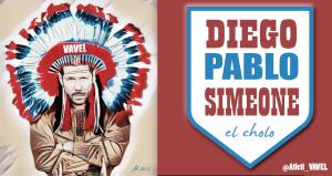 Cholo Simeone, el Gran Jefe indio