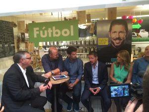 """Simeone: """"En el Atlético de Madrid trabajamos para ganar"""""""