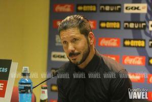 """Simeone: """"La derrota no fue tan mala porque empataron el Valencia y el Sevilla"""""""