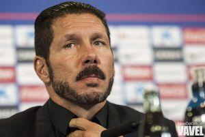 """Simeone: """"La gente adora al equipo y al entrenador que tiene; fue una reacción espontánea"""""""