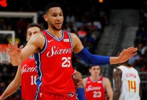 NBA - L'undicesima tripla-doppia stagionale di Simmons guida i Sixers alla vittoria su Atlanta; tornano a vincere i Bulls
