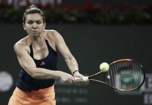 WTA Indian Wells: Simona Halep eases past Donna Vekic