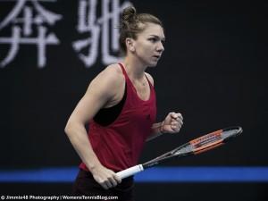 WTA Beijing: Halep breaks Sharapova curse, cruises into last eight