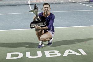 Simona Halep triunfó en Dubai