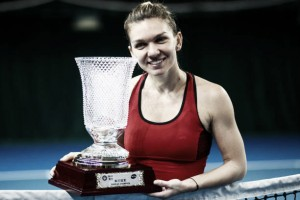 WTA Shenzhen: Simona Halep ousts Katerina Siniakova for the title