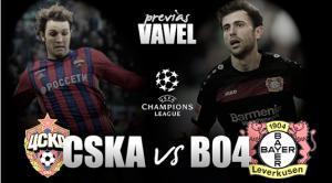 Previa CSKA Moscú - Bayer Leverkusen: en busca del liderato en el frío moscovita