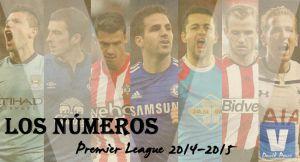 Los números de la Premier League 2014/2015