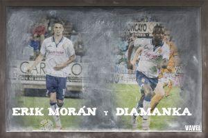 Erik Morán y Diamanka se ganan el puesto