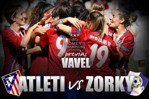 Atlético Féminas - Zorky: el líder llega a Europa