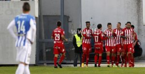 El Girona asalta Butarque en el descuento