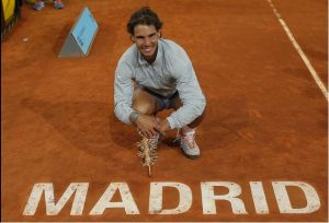 Nadal, tetracampeón en Madrid