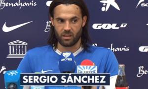 """Sergio Sánchez: """"La ansiedad por ganar puntos debe ser para ellos"""""""