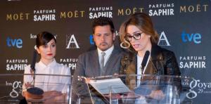 Recuento de nominaciones a los Goya 2015
