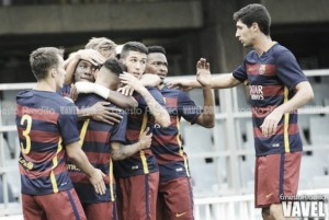 FC Barcelona B - UE Olot: prosigue la buena racha (2-0)