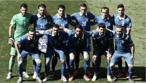 Colombia - Grecia: puntuaciones de Grecia, jornada 1