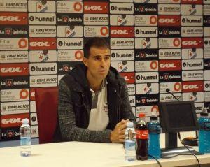 """Garitano: """"Tenemos muchas ganas de jugar en San Mamés"""""""