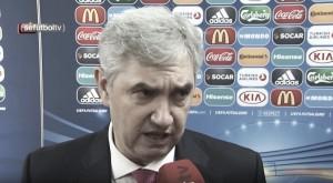 """José Venancio López: """"Hemos venido a ganar el título, pero solo podemos pensar partido a partido"""""""